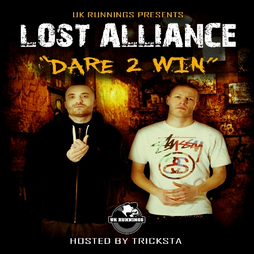 UK Runnings Presents Lost Alliance - Dare 2 Win - Front Cover 500x500